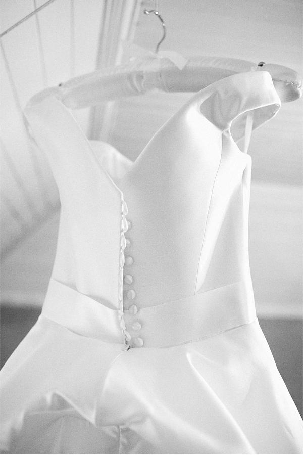 dress detail hanging