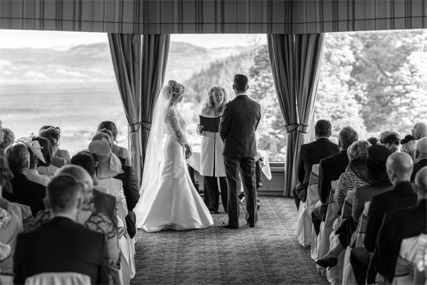 wedding ceremony at stonefield castle fotogenic of scotland