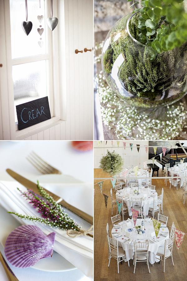 wedding details at crear scotland