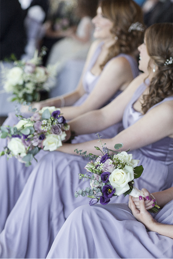 bridemates and flowers