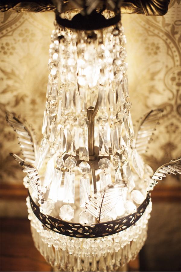 decorative crystal lamp