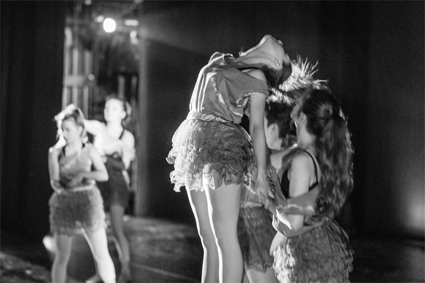 scottish ballet show girl balerina