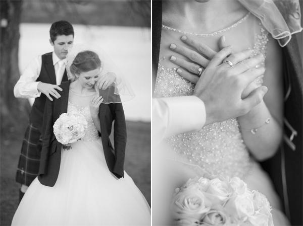 bride and groom loch lomond photographer
