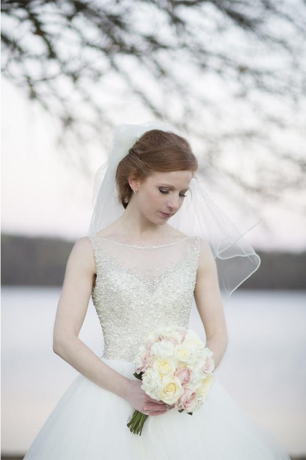 cameron house wedding photographer portrait of a bride