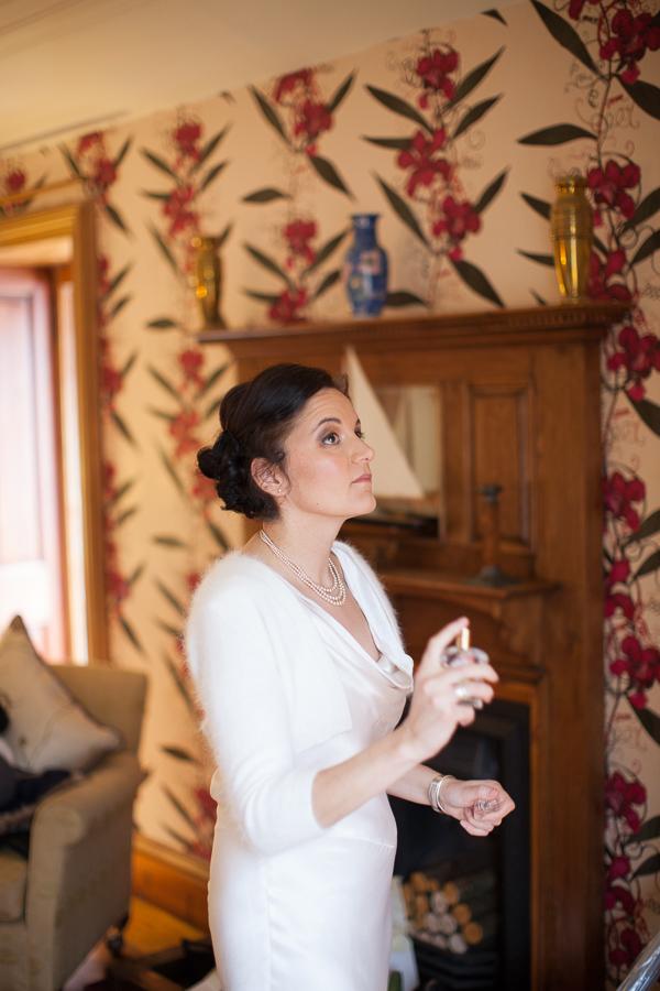bride preparations in scotland fotogenic of scotland