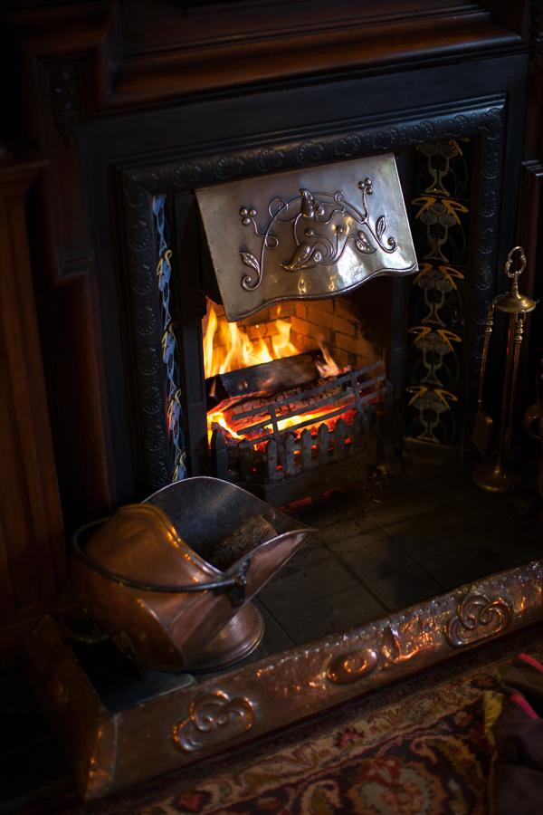 the lodge on loch goil fireplace scotland