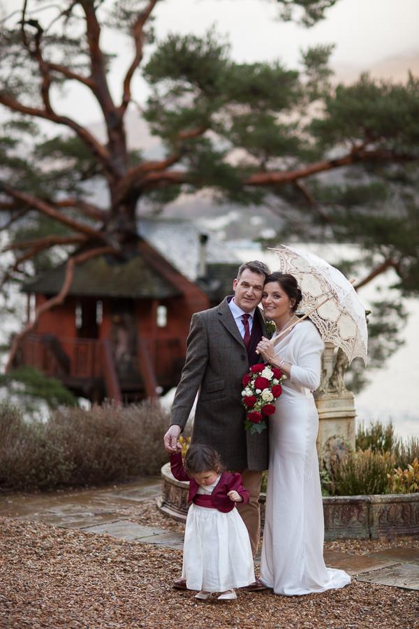 wedding photos the lodge on loch goil scotland