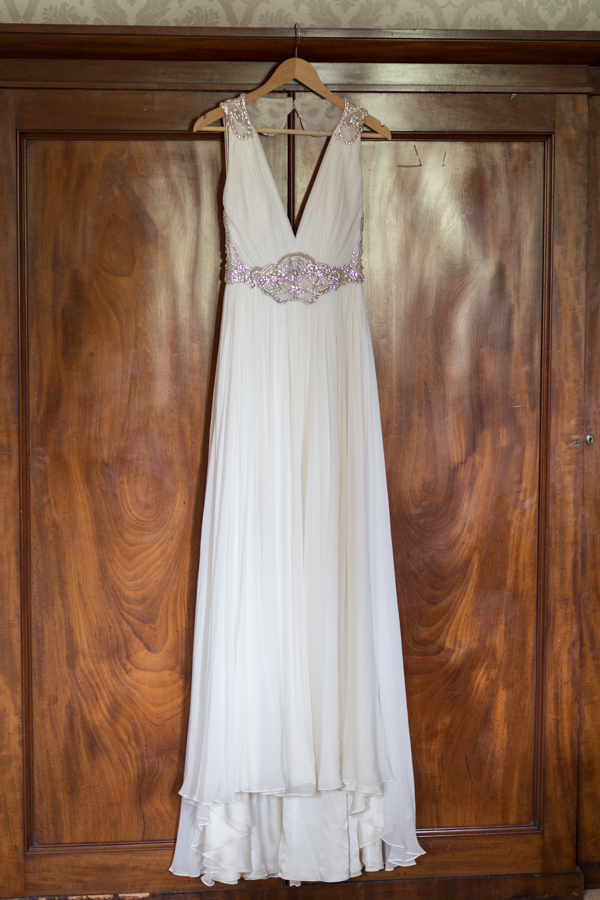 wedding dress at  blairquhan castle