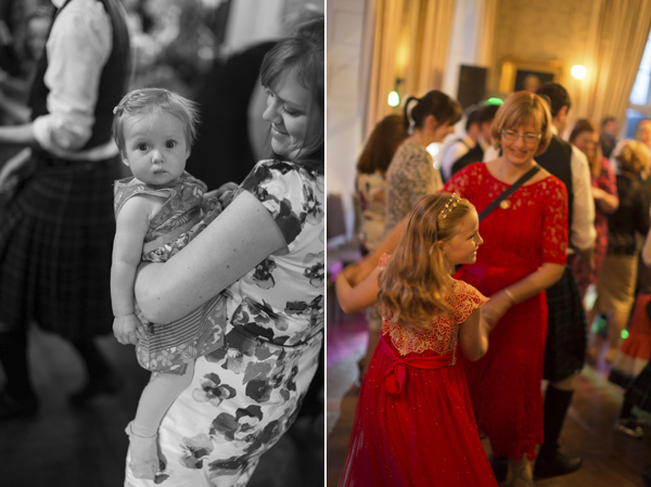 kids dancing during wedding