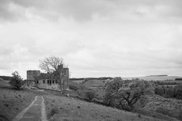 scottish castle ruins