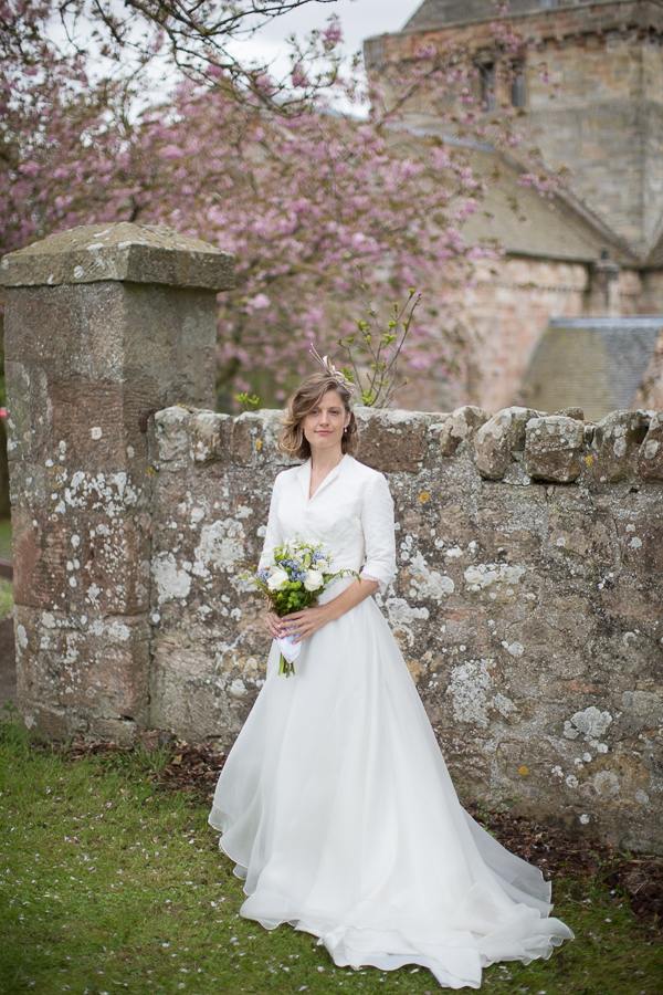 wedding photographer edinburgh scotland bride