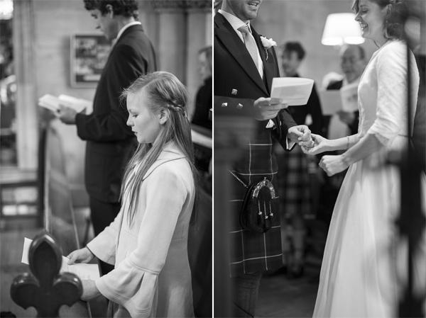 singing during wedding ceremony