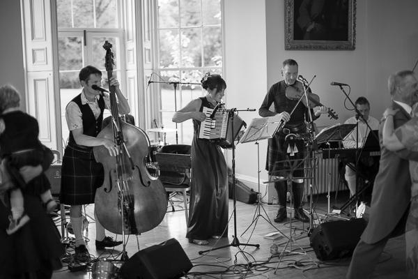cool scottish wedding band