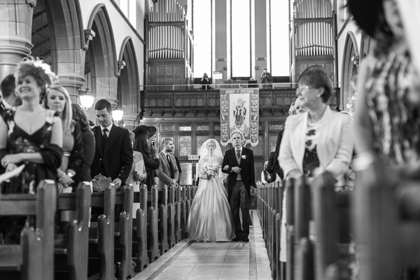 wedding photographers glasgow edinburgh church ceremony in scotland