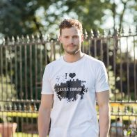 jamie dornan actor celebrity portrait for castle toward campaign