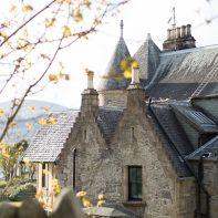 scottish hotel at cove scotland