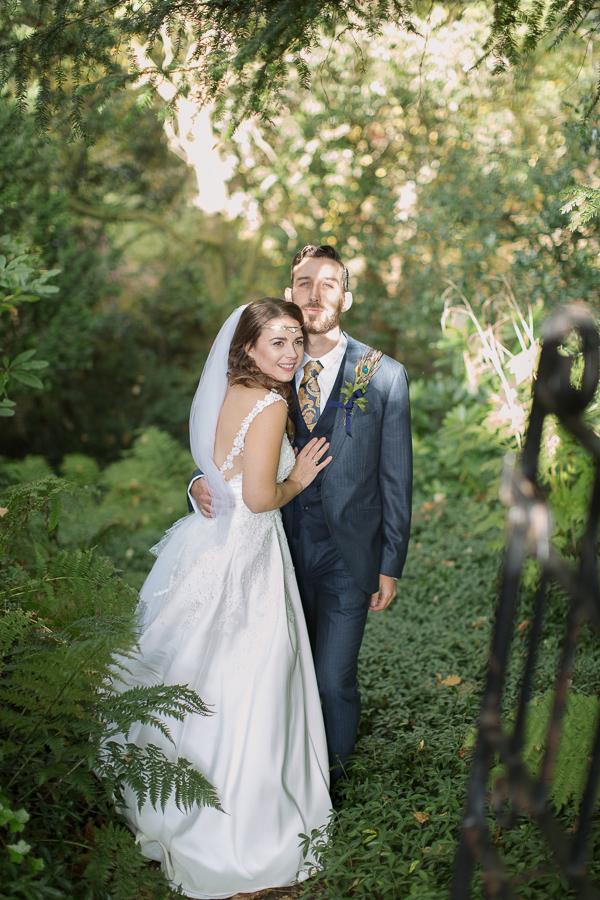 fotogenic of scotland wedding photographer glasgow married couple embraced