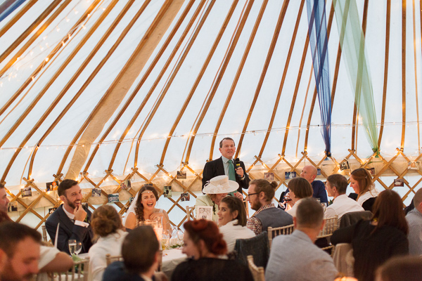 father of the bride speech tipi tent