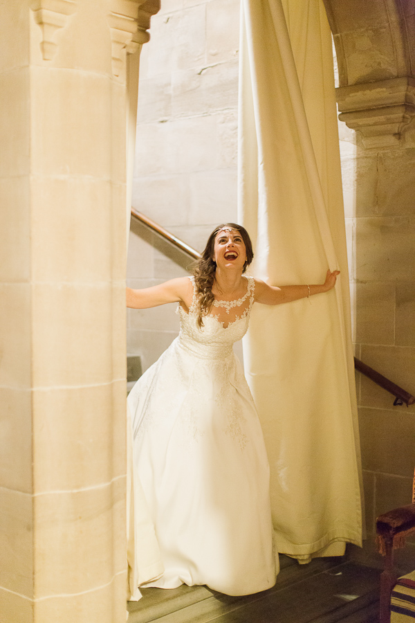 bride laughing photo by fotogenic of scotland