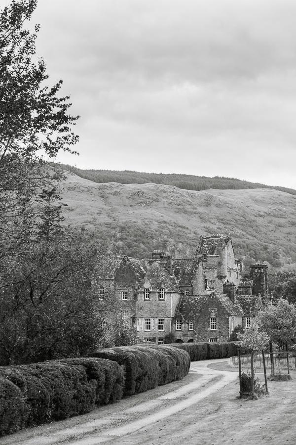 ardkinglas estate house castle mansion loch fyne wedding venue in scotland