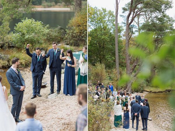 wedding ceremony in scotland near glasgow