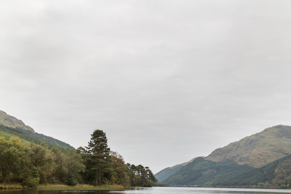 loch eck landscape view
