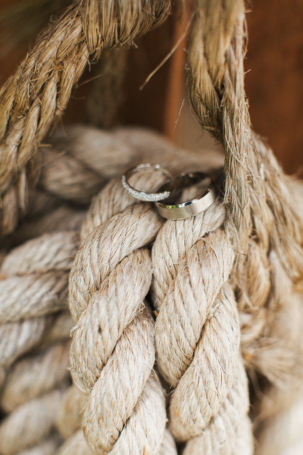 rings detail on ropes