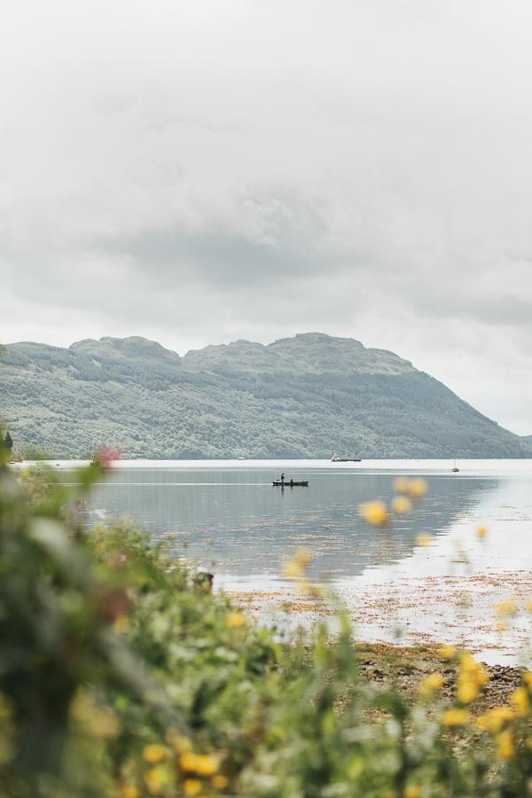 The Lodge on Loch Goil Wedding, Catriona & Barny