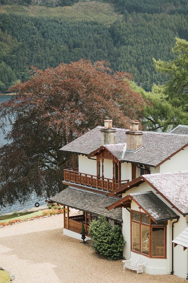 The Lodge on Loch Goil Wedding photos