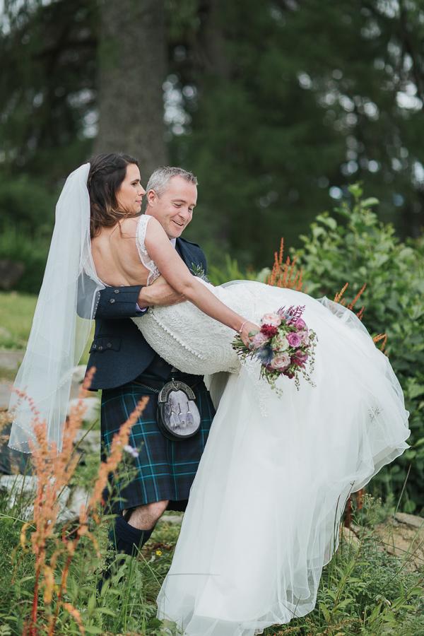 fotogenic of scotland wedding photographers bride lifting bride
