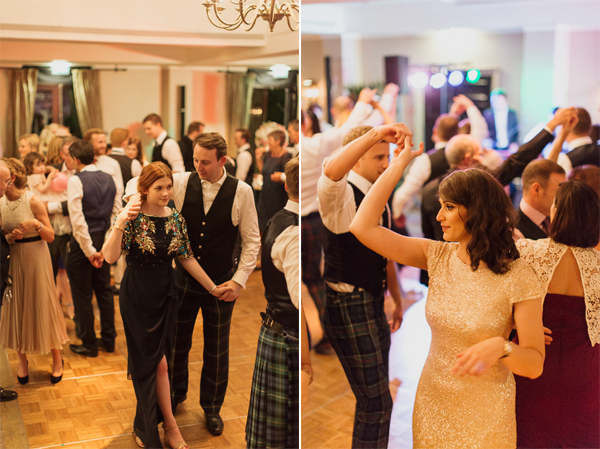 gusests dancing scottish dances at cameron house hotel
