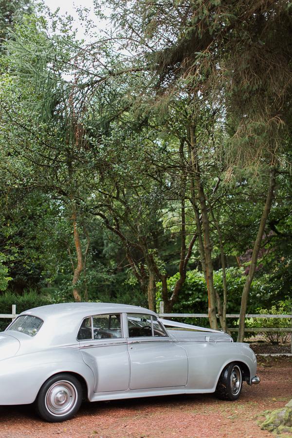 wedding car hired bearsden glasgow