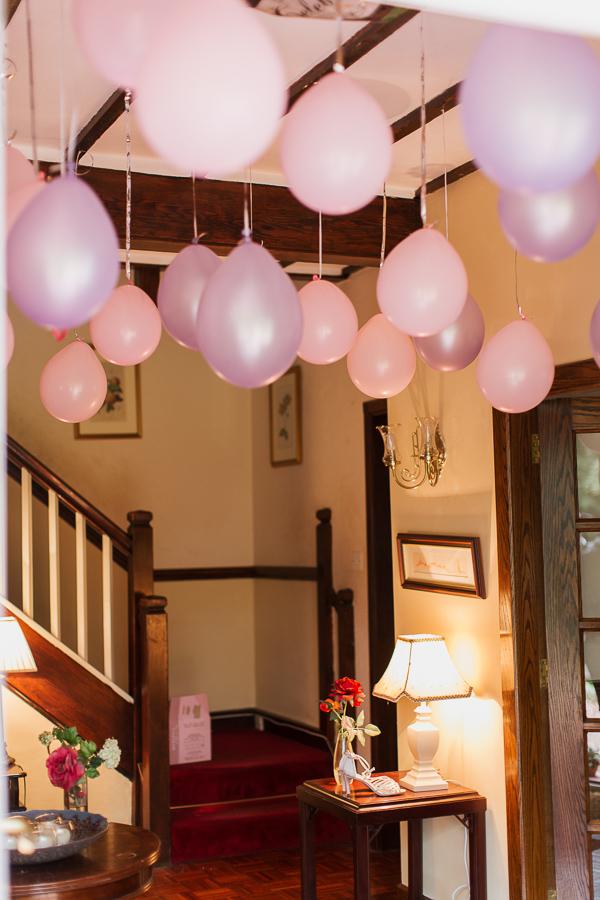 baloons bearsden wedding preparations