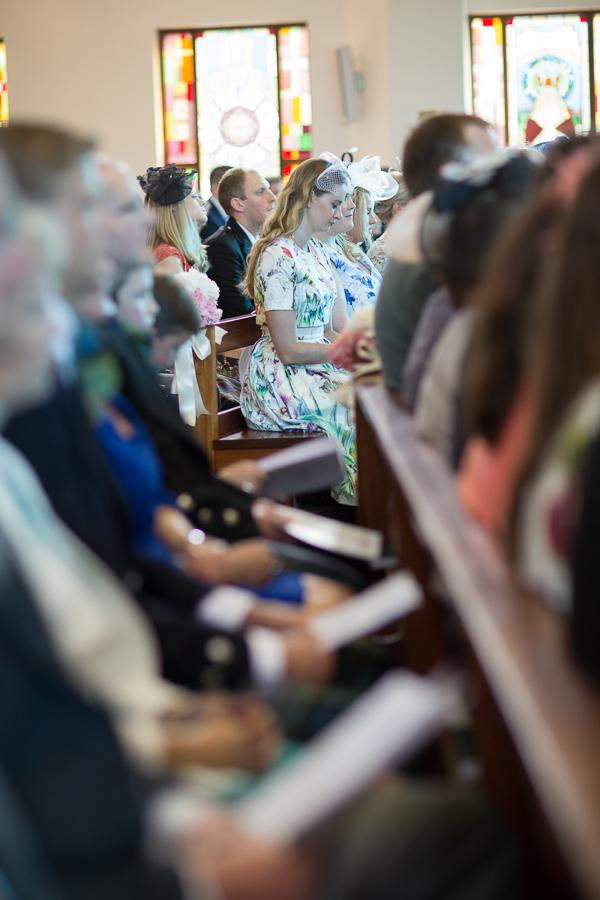 st andrews roman catholic church during wedding
