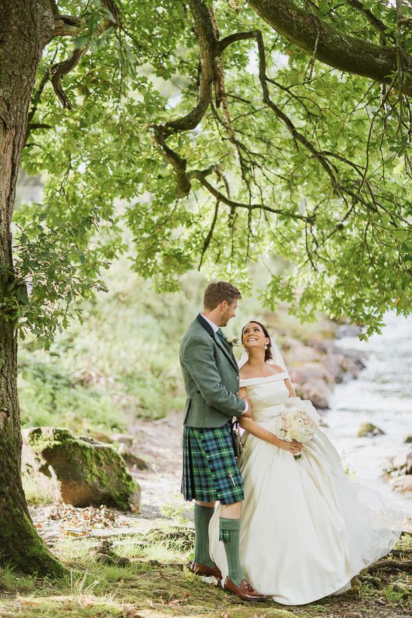 wedding photographers glasgow cameron house