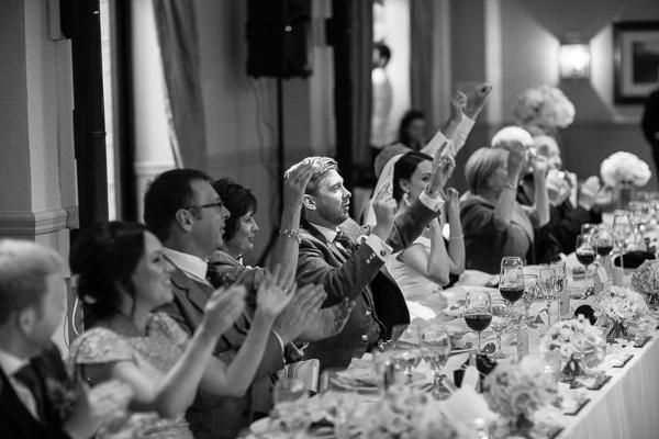 singining waiters at cameron house hotel durign wedding