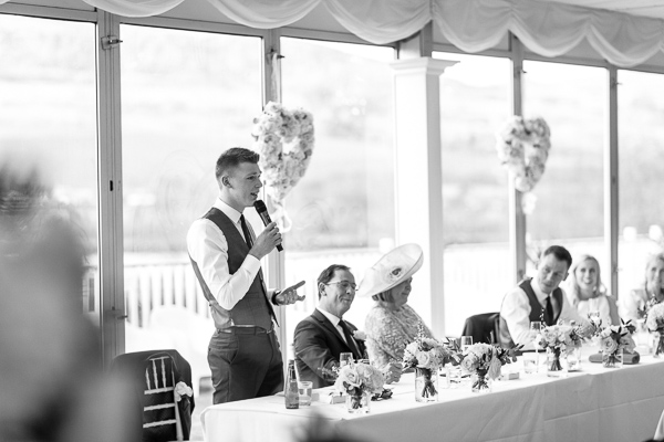 best man speech at mar hall wedding