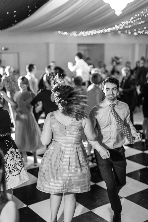 guests dancing at the wedding mar hall glasgow