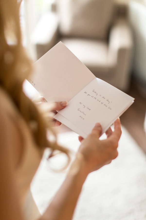 letter from the groom wedding photographers scotland
