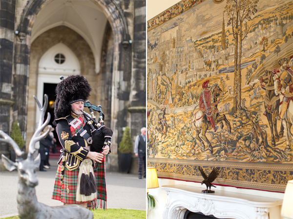 piper and scottish tapestry glasgow