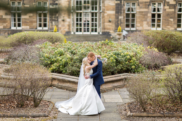 wedding shots at mar hall scotland