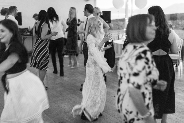 dancing at crear wedding venue