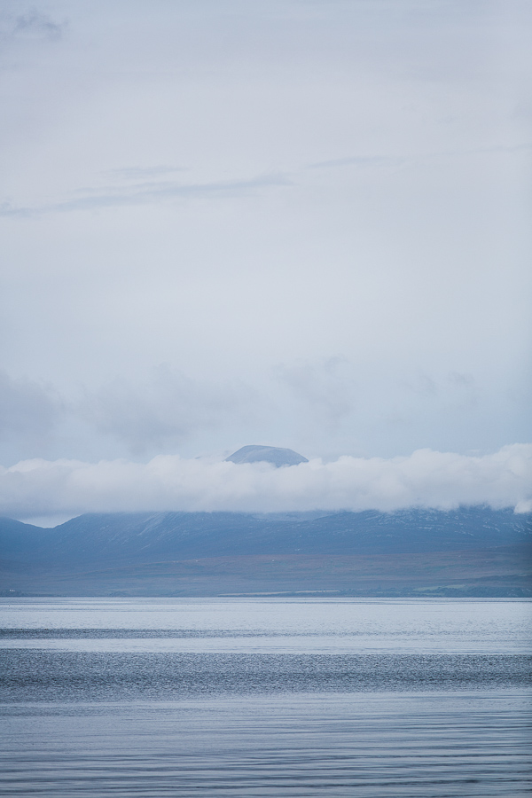 isle of isla view from mull of kintyre wedding landscape