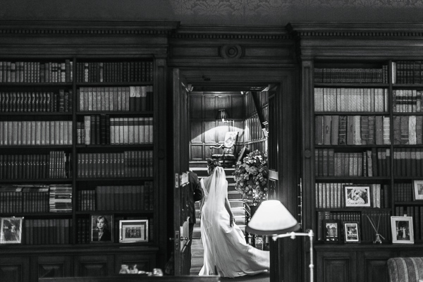 dundas castle library and bride