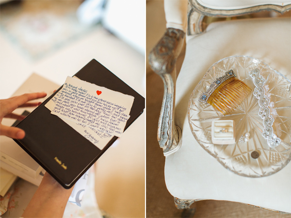 letter from groom to bride, bible and details