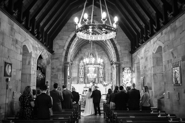 bride and groom at church during wedding ceremony fotogenic of scotland