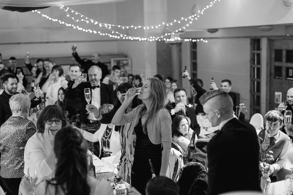 toast during wedding speeches in scotland