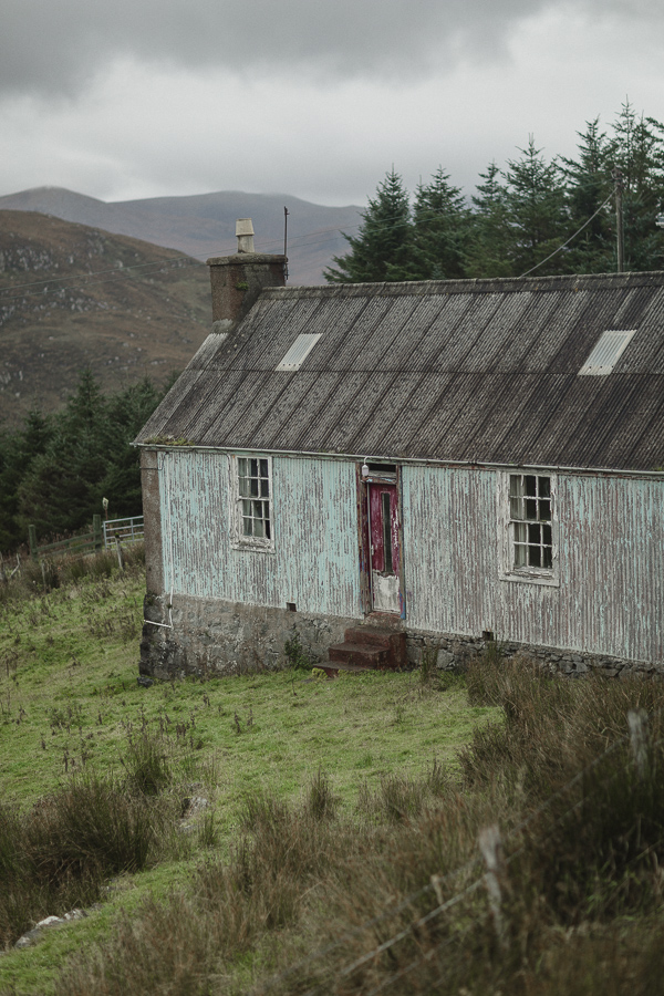 old house on isle of harris in scotland