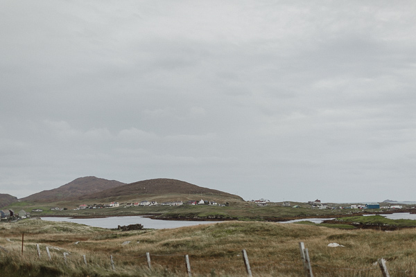 view over isle of harris village