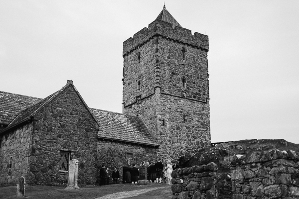 st clements church in rodel on isle of harris wedding